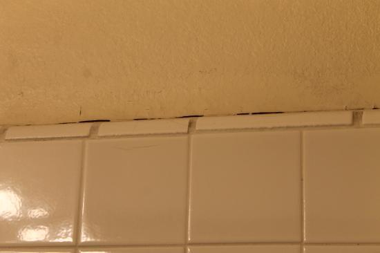 Mission Valley Resort: Bathroom tile