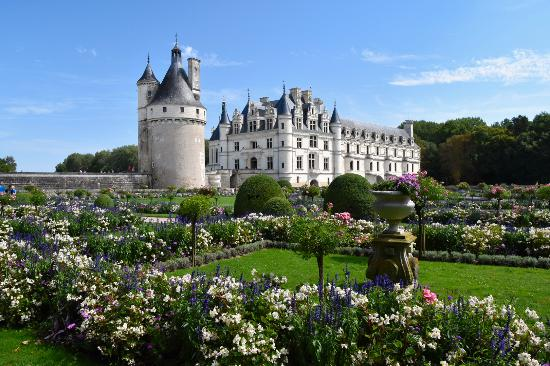 Chenonceaux, Fransa: Catherine's Garden