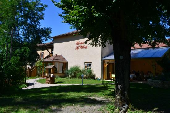 Restaurant Les Tilleuls : Vue extérieure