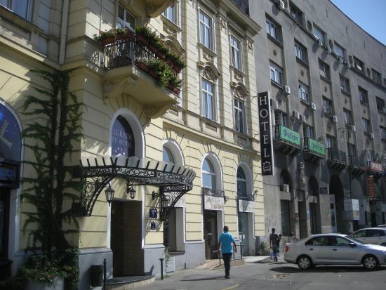 Belgrade city hotel the main building foto de belgrade for Hotel belgrado