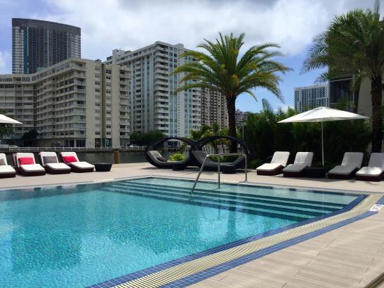 Beachwalk Resort Pool On Intracoastal