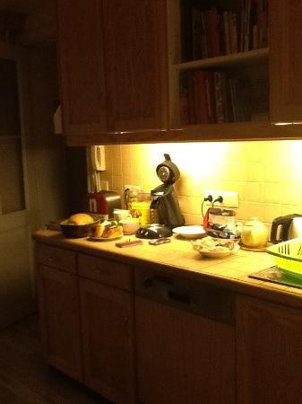 Dame de Carreau: La cucina