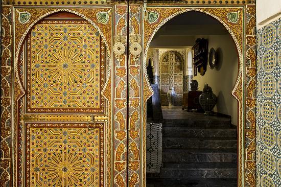 Villa Quieta: Porte artisanale .