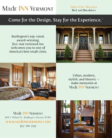 Made INN Vermont An Urban Chic Bed And Breakfast Small Luxury Hotel Burlington