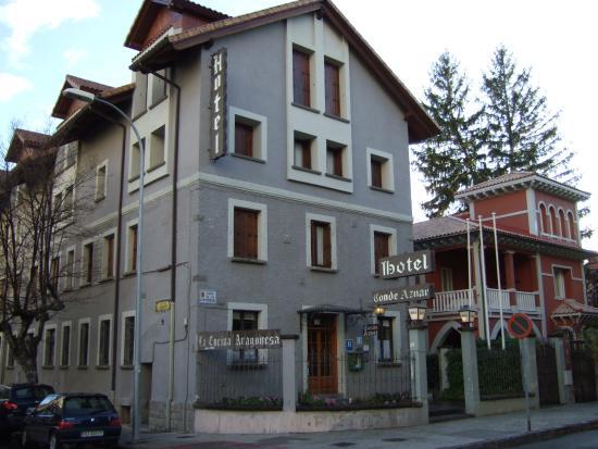 Exterior Hotel Conde Aznar