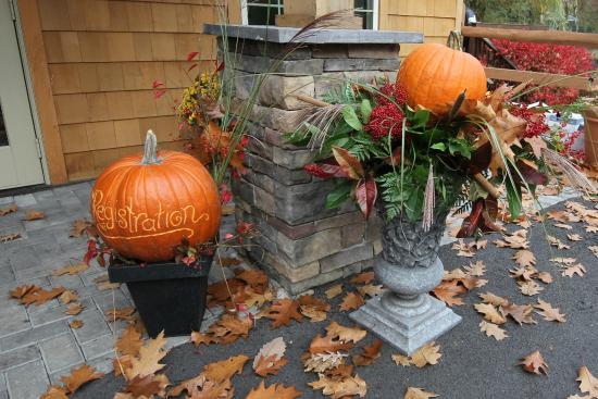 Skytop Lodge: Carve your pumpkin at Skytop