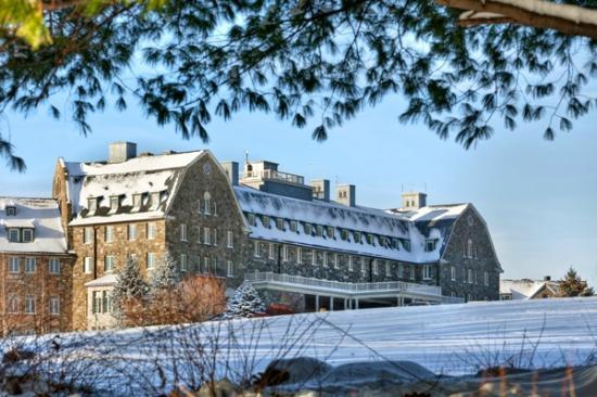 Skytop Lodge: Winter wonderland at Skytop