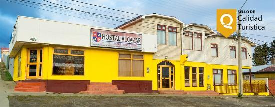 Hotel Alcazar: Frontis