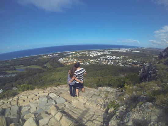 Coolum Beach, أستراليا: A View from Halfway up Mt Coolum, QLD.