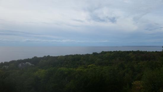 Egg Harbor, WI: view from room