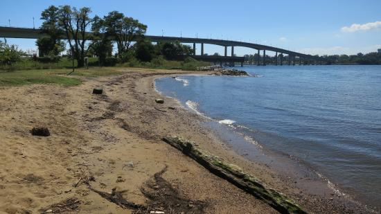 Jonas Green State Park Severn River Bridge From The Beach