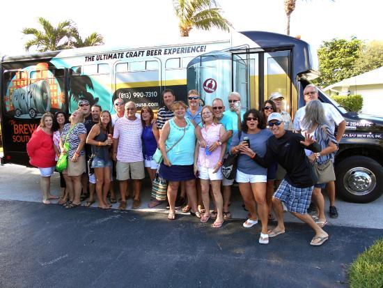 The Brew Bus-South Florida: Leon's 60th Birthday!