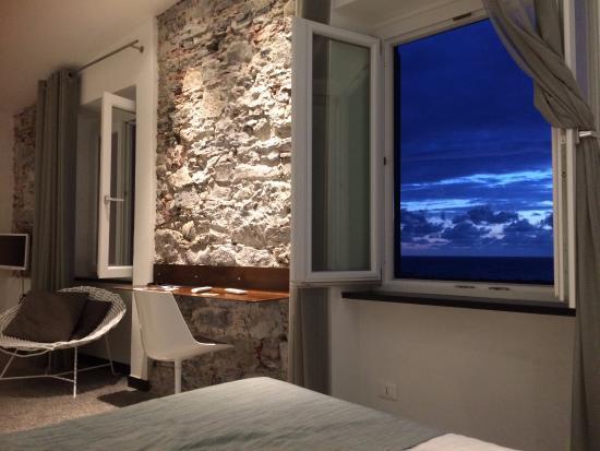 Hotel Marina Piccola : Our room (no. 9) on the top floor Marina Piccola