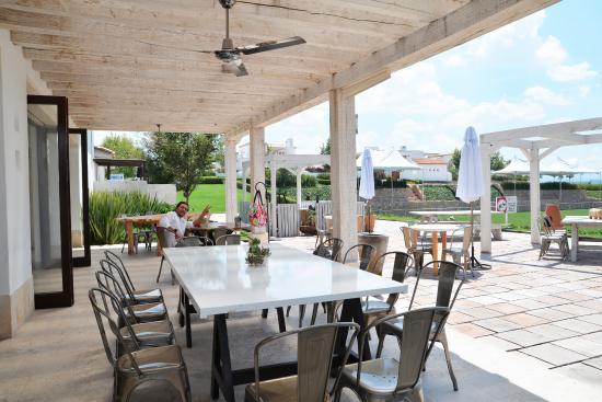 Otra linda vista de la terraza picture of b 39 ui cocina de for Cocinas de campo