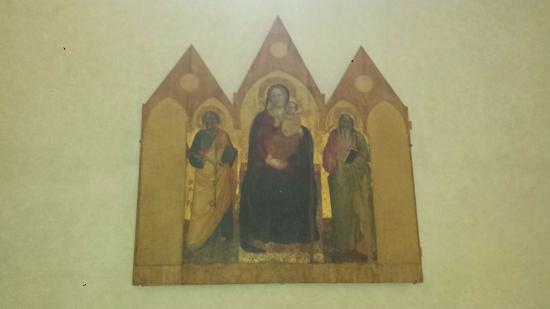 Pieve di Sant'Andrea a Cercina : Polittico trecentesco del Maestro di San Niccolò