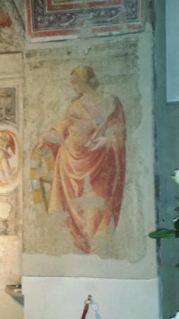 Pieve di Sant'Andrea a Cercina : Affresco