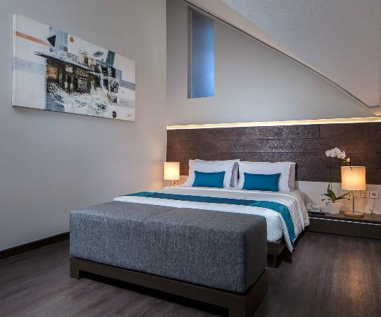 Sanur Paradise Plaza Suites: Loft bedroom