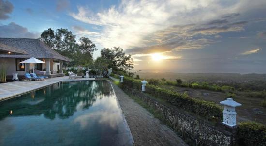 Villa Puri Balangan: Sunset time