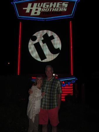 Hughes Brothers Theatre : James and Karen at The Hughes Brother Theater