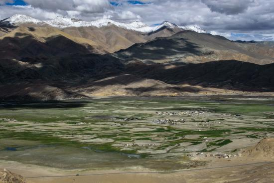 Hanle valley and village from the observatory - Picture of Padma (Sonam's) Home Stay, Hanle - Tripadvisor