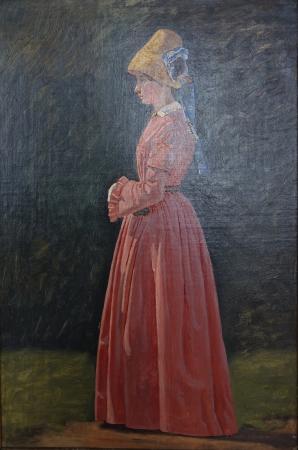 Sorø, Danmark: Christen Dalsgaard: Portrait of Augusta Pauline Blom