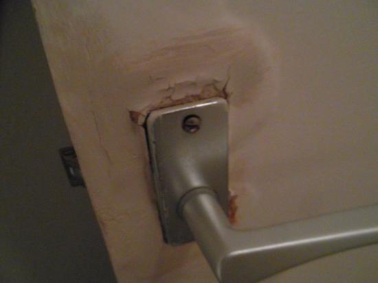 ITC Hotel Door On The Shower