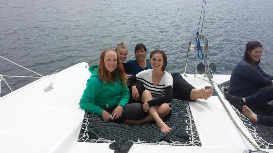 Nanaimo, كندا: Vancouver Island Catamaran Sailing