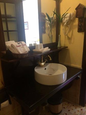Saphir Dalat Hotel: Ванная