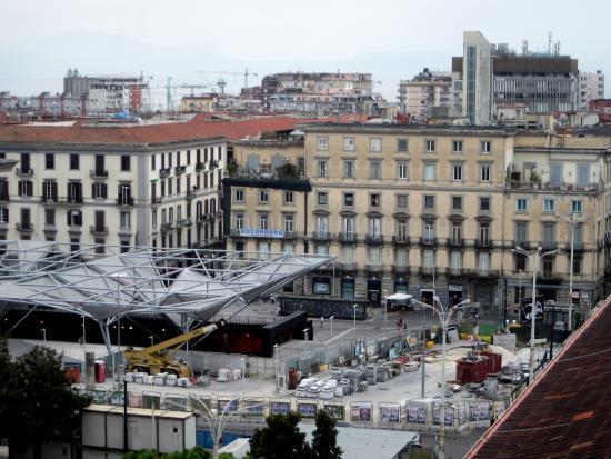 Vista di Piazza Garibaldi dalla terrazza - Picture of Hotel Garden ...