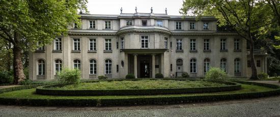 De villa van de Wannsee conferenz Haus der Wannsee