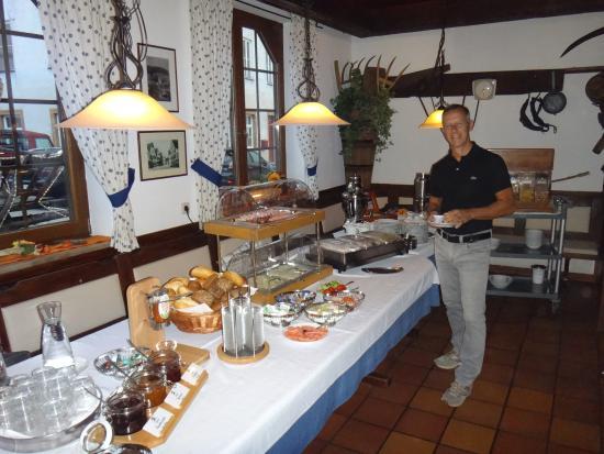 Wiesensteig, Deutschland: colazione