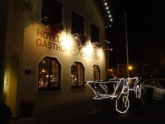 Wiesensteig, Tyskland: di sera