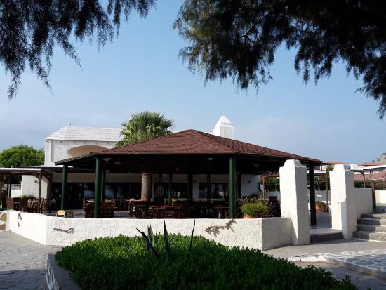 Hotel Sun Beach Lindos: Restaurant