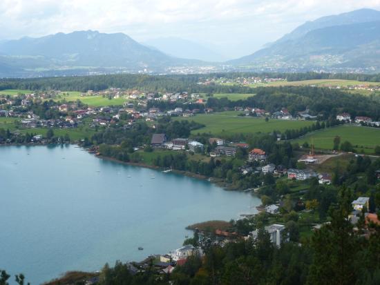 Ledenitzen, Austria: Вид на отель
