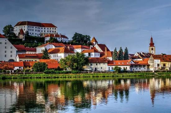 Hotel Mitra: Ptuj- oldest city in Slovenia