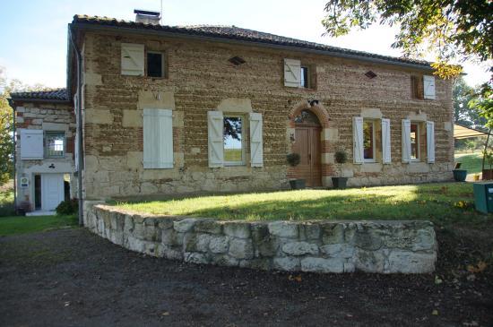 Tarn-et-Garonne, Fransa: maison des propriétaires et salle à manger des chambres d'hôtes