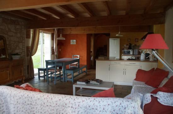 Tarn-et-Garonne, Frankrike: salle à manger des chambres d'hôtes