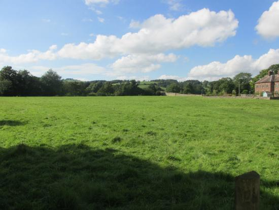 The Okeover Arms: The view