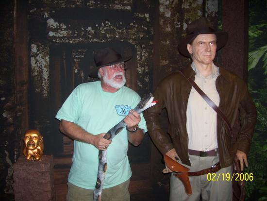 Hollywood Wax Museum: Indiana Jones