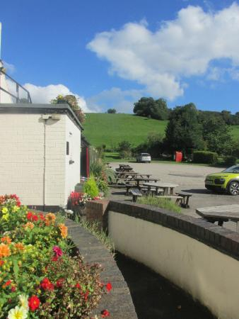 The Okeover Arms: Outdoor Seating