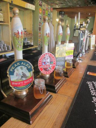The Okeover Arms: Real Ales