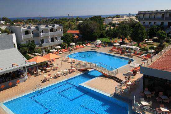 Evi Hotel Rhodes: Basen