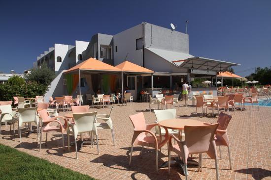 Evi Hotel Rhodes: Bar przy basenie
