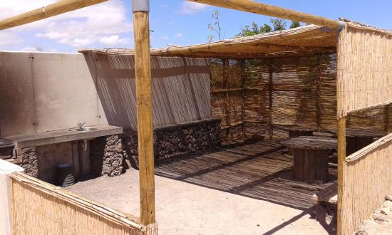 zona de barbacoas - Picture of Camping Playa de Vargas, Aguimes ...
