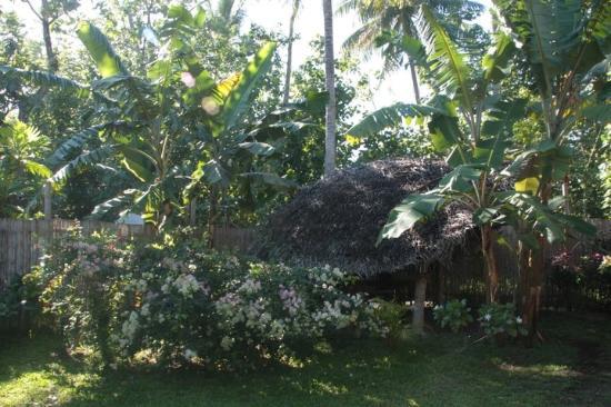 Te Nunoa Private Garden Bungalow : garden dining area
