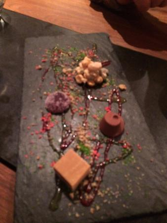 La Rock Restaurant: selection of sample sweet treats that came with the coffee