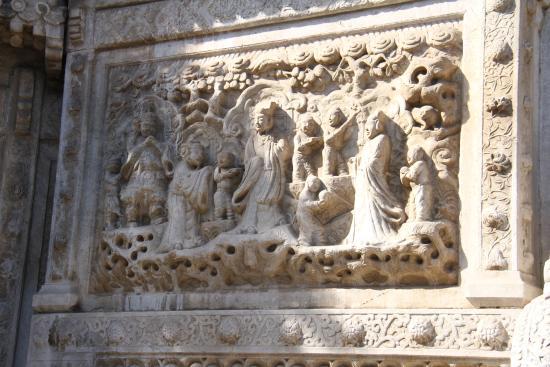 Biyun Temple: 彫刻が見事