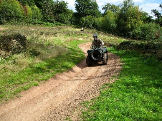 Kentchurch, UK: Laps of the track