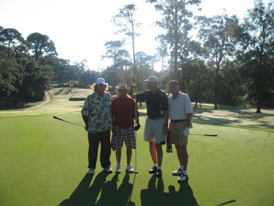 Gulf Hills Golf Club: Steve/Kenny/Rick and Bince