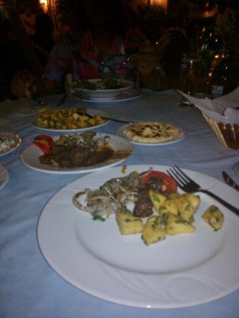 Ocean Restaurant: LIVER, POTATO, AND SALAD